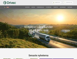 drivec.se screenshot