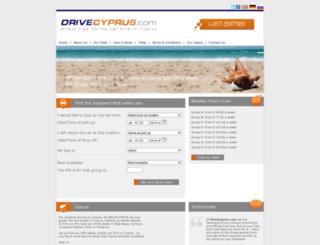 drivecyprus.com screenshot