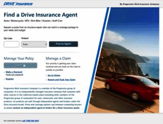 driveinsurance.com screenshot