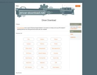 driver-download.net screenshot