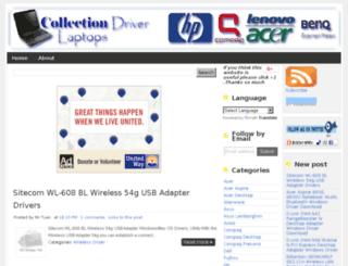 driver-laptops.blogspot.com screenshot