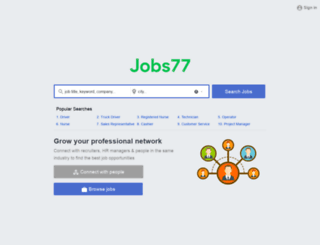 driver.jobs77.com screenshot