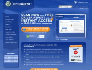 driveragent.com screenshot
