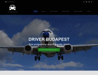driverbudapest.com screenshot