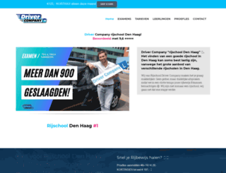 drivercompany.nl screenshot