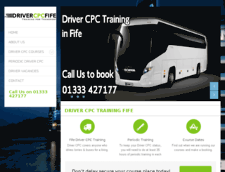 drivercpcfife.co.uk screenshot