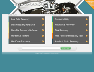 driverecovery.net screenshot