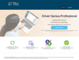 drivergeniusprofessional.com screenshot