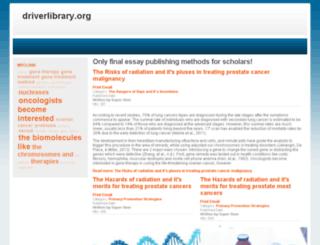 driverlibrary.org screenshot