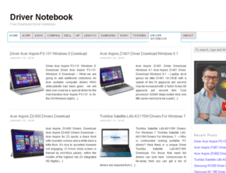 drivernotebook.net screenshot