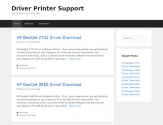driverprintersupport.com screenshot