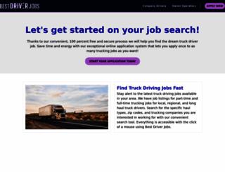 driverrecruiting.com screenshot
