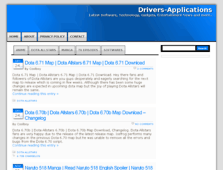 drivers-applications.com screenshot