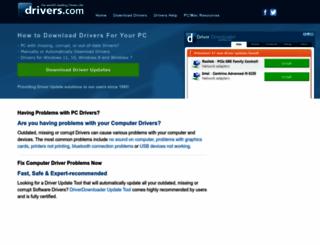 drivers.com screenshot