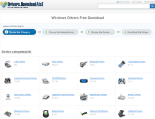 drivers.downloadatoz.com screenshot