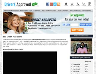 driversapproved.com screenshot