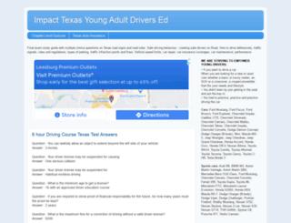 driversedover18.com screenshot