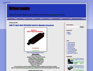 driversnum.blogspot.com screenshot