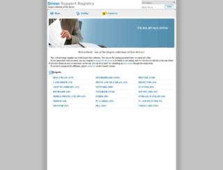 driverstock.com screenshot