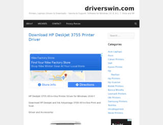 driverswin.com screenshot