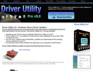 driverutility.com screenshot