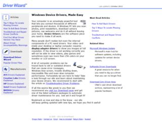 driverwizard.org screenshot