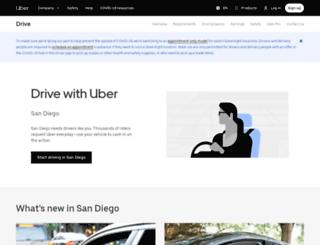 driveubersd.com screenshot