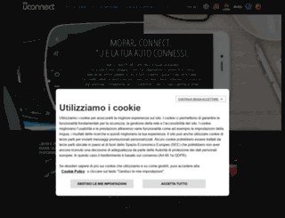 driveuconnect.eu screenshot