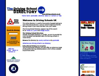driving-schools.co.uk screenshot