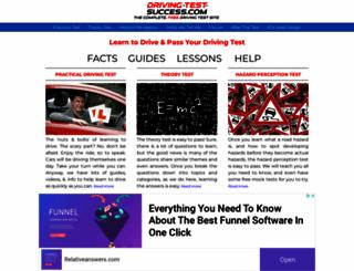 driving-test-success.com screenshot