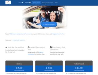 driving-theory-test.com screenshot