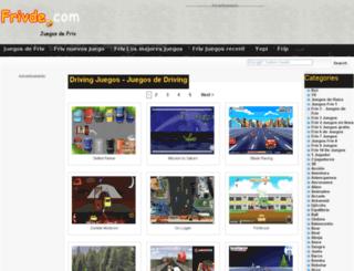 driving.frivde.com screenshot