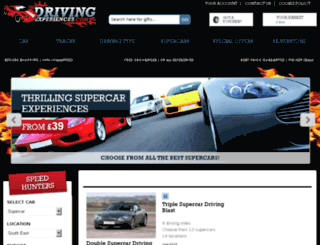 drivingexperiences.com screenshot
