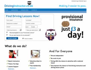 drivinginstructor.co.uk screenshot