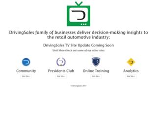 drivingsales.tv screenshot