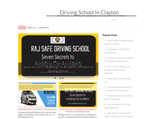 drivingschoolclayton.blogspot.in screenshot