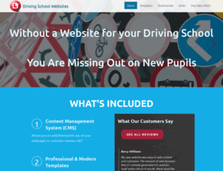 drivingschoolwebsites.co.uk screenshot