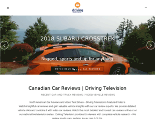 drivingtelevision.tv screenshot