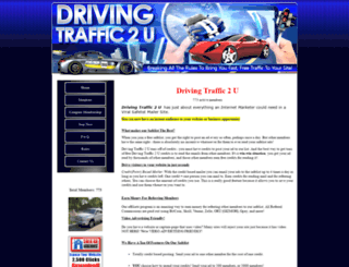 drivingtraffic2u.com screenshot