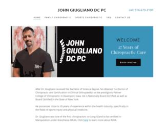 drjohngiugliano.com screenshot