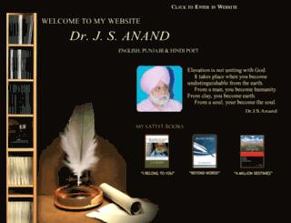 drjsanand.com screenshot