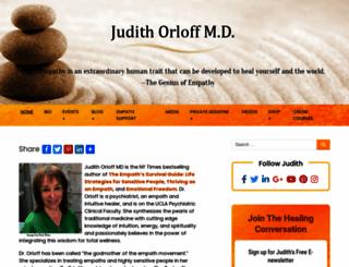 drjudithorloff.com screenshot