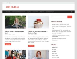 drk-kh-diez.de screenshot