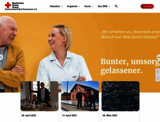 drk-kreuznach.de screenshot