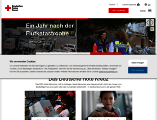 drk.de screenshot