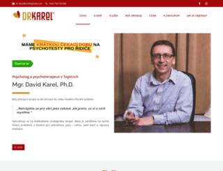 drkarel.cz screenshot