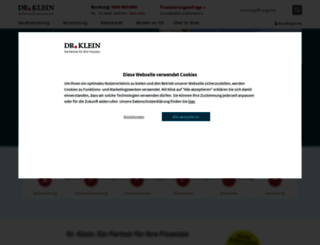 drklein.de screenshot