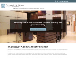 drlbrown.com screenshot
