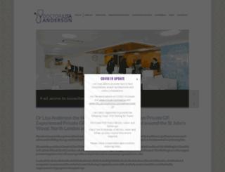 drlisaanderson.com screenshot