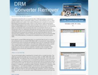 drm-converter-remover.com screenshot